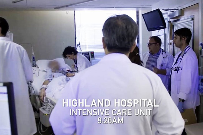 Highland Hospital Intensive Care Unit, 9:26 AM