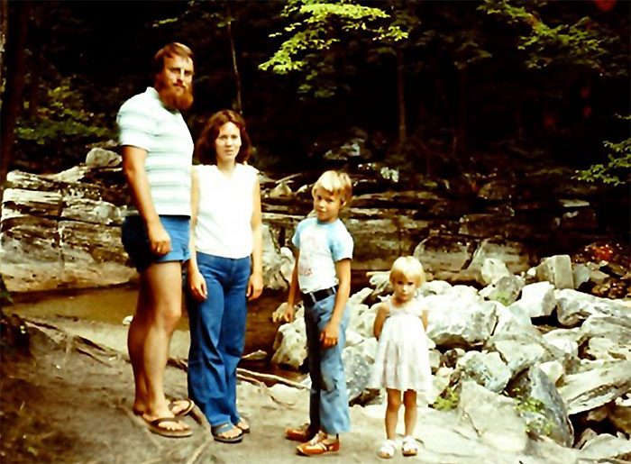 Spetzler Family in 1977