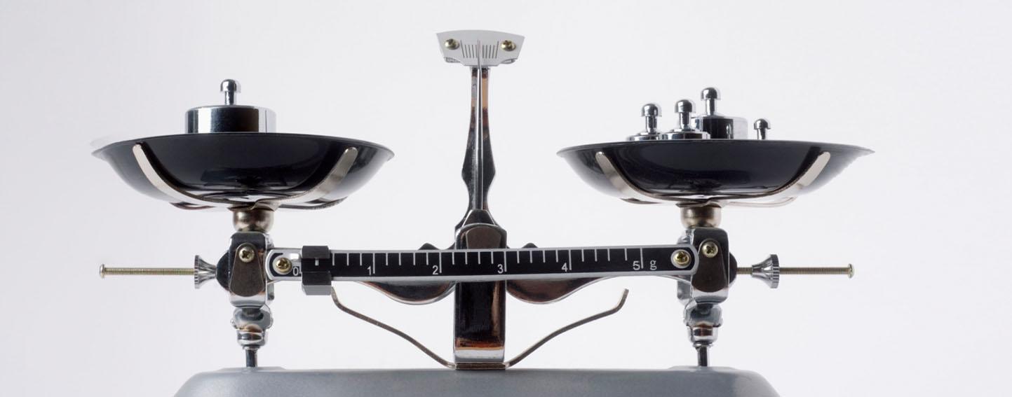 balanced scale