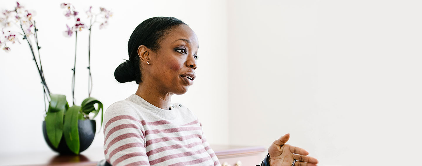 Dr. Nadine Burke Harris, California's first surgeon general, in her San Francisco office. Photo: Michael Short