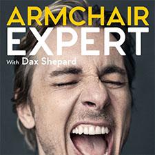 Armchair Expert Podcast Logo