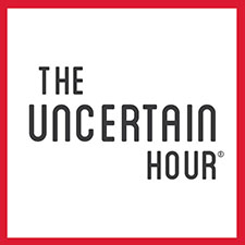 The Uncertain Hour Podcast Logo