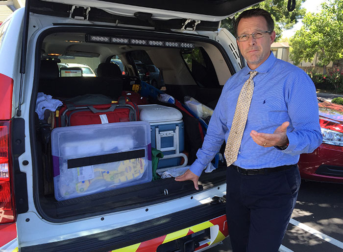 Kevin Mackey, medical director of Sanislaus County community paramedicine program