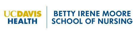 Logo for UC Davis Health, Betty Irene Moore School of Nursing