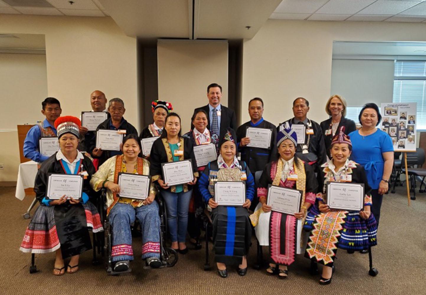 Hmong shaman graduation ceremony