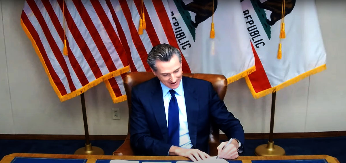 Governor Newsom signs legislation expanding access to quality behavioral health care.