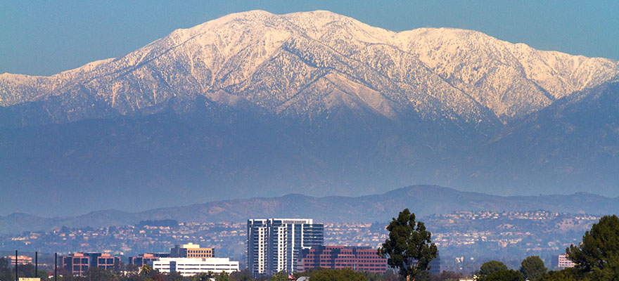 Mt. Baldy in San Bernardino County