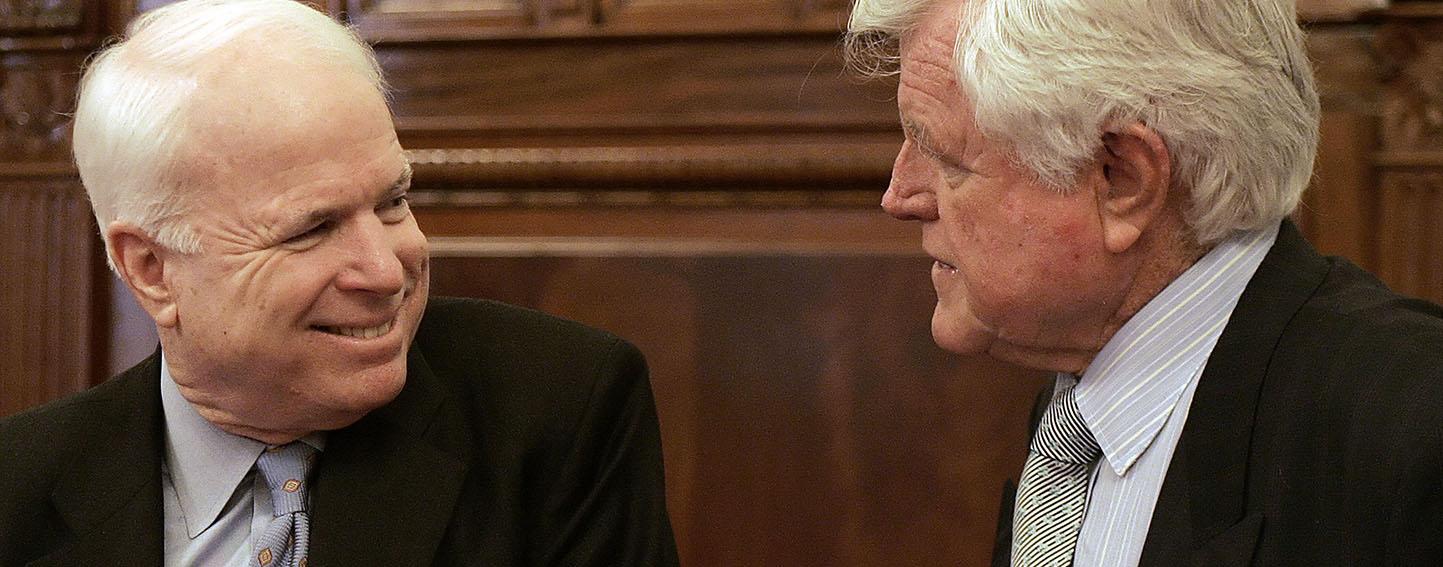 Senators McCain and Kennedy
